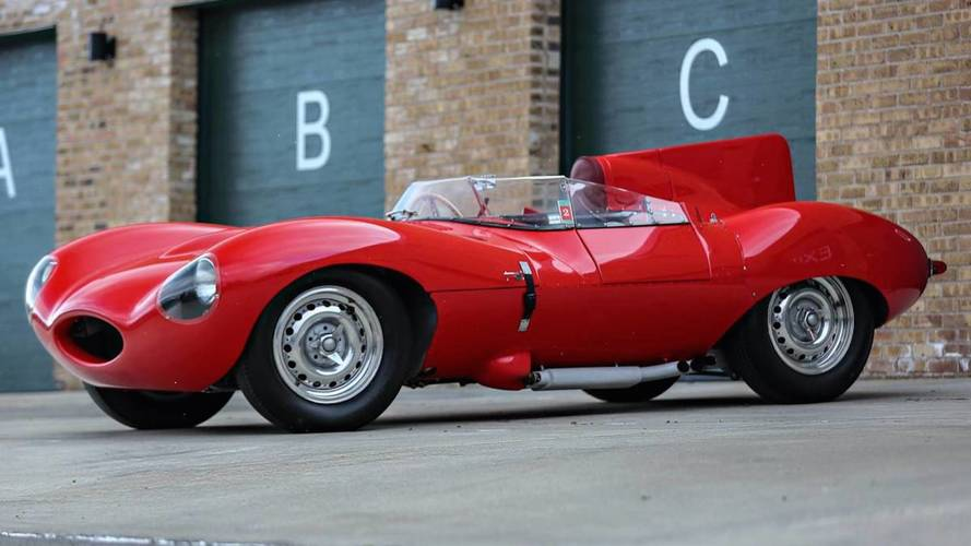 1956 Jaguar D-Type Could Go For $10 Million At Auction