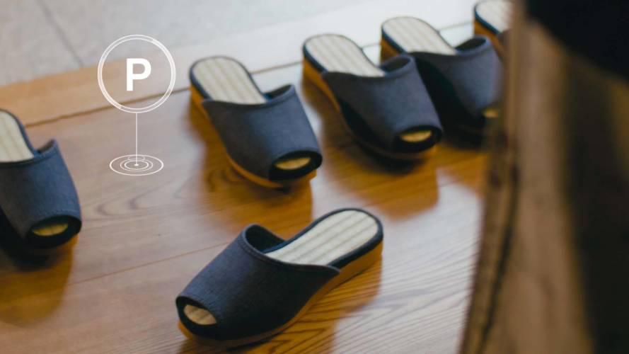 Nissan's Autonomous Tech Is Also For . . . Self-Parking Slippers?