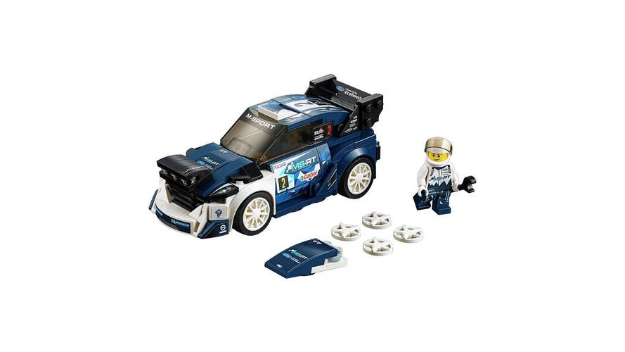 ford fiesta wrc joins five other new lego speed champions sets. Black Bedroom Furniture Sets. Home Design Ideas