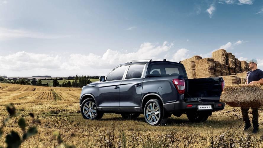 SsangYong Musso - Un nouveau pick-up sur le marché français