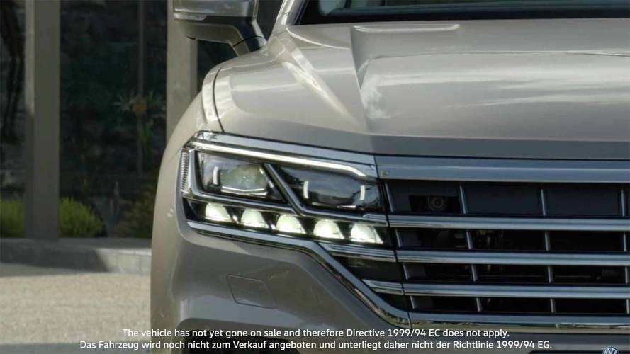 Volkswagen Touareg For Sale >> 2019 VW Touareg Returns In Most Revealing Teaser To Date