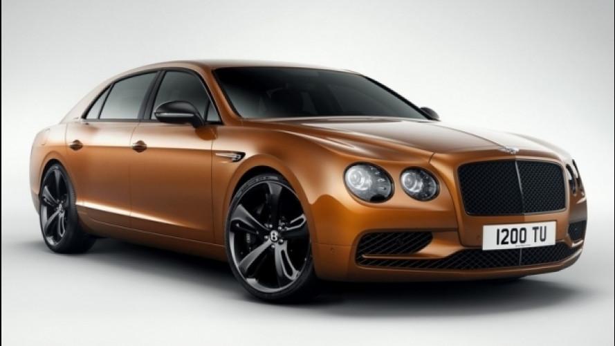 Bentley Flying Spur W12 S, più cattiva che mai