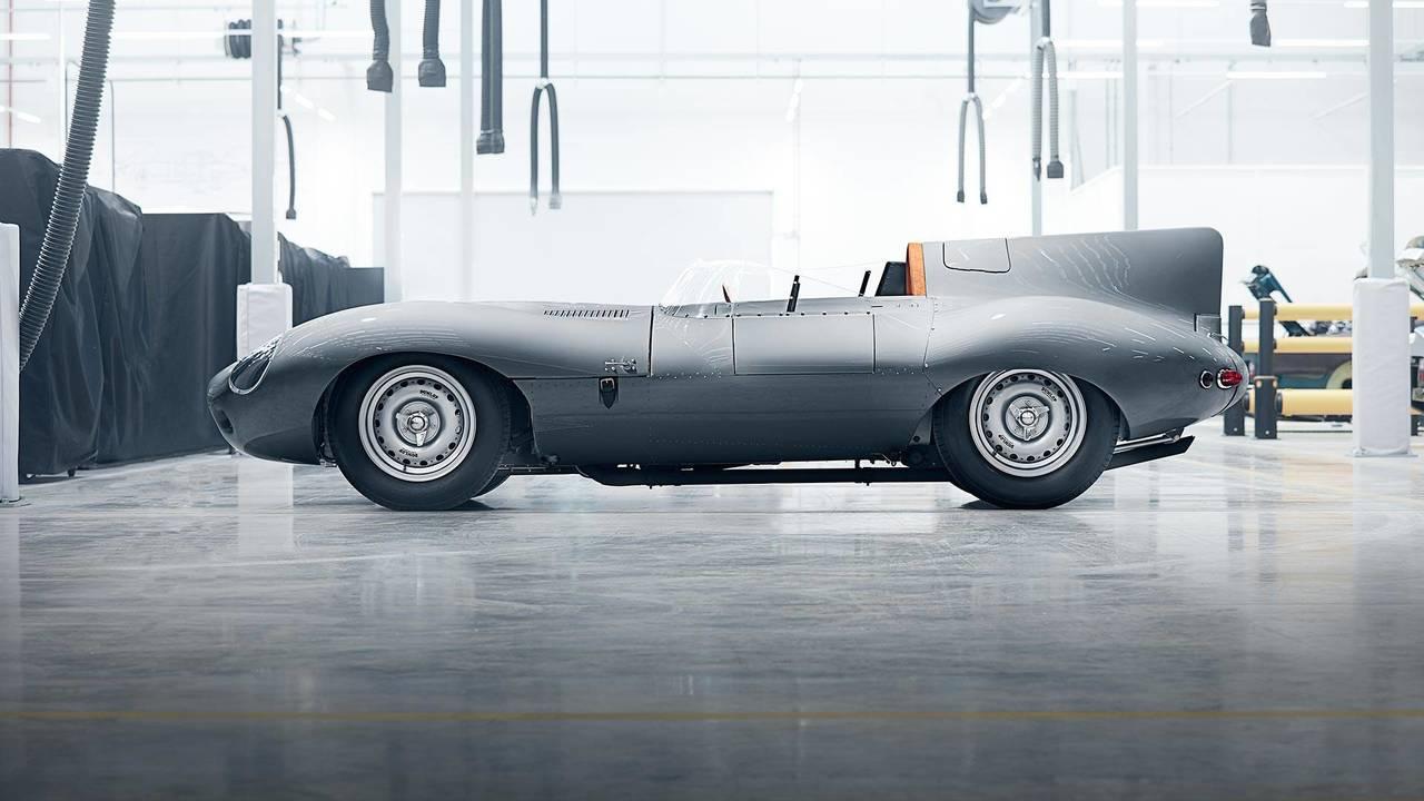 Jaguar D-Type üretime dönüyor