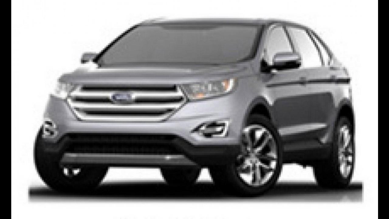 Ford produzirá EcoSport e Edge na Rússia a partir do ano que vem