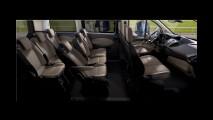 Ford apresenta versão de produção da van Tourneo Custom na Europa