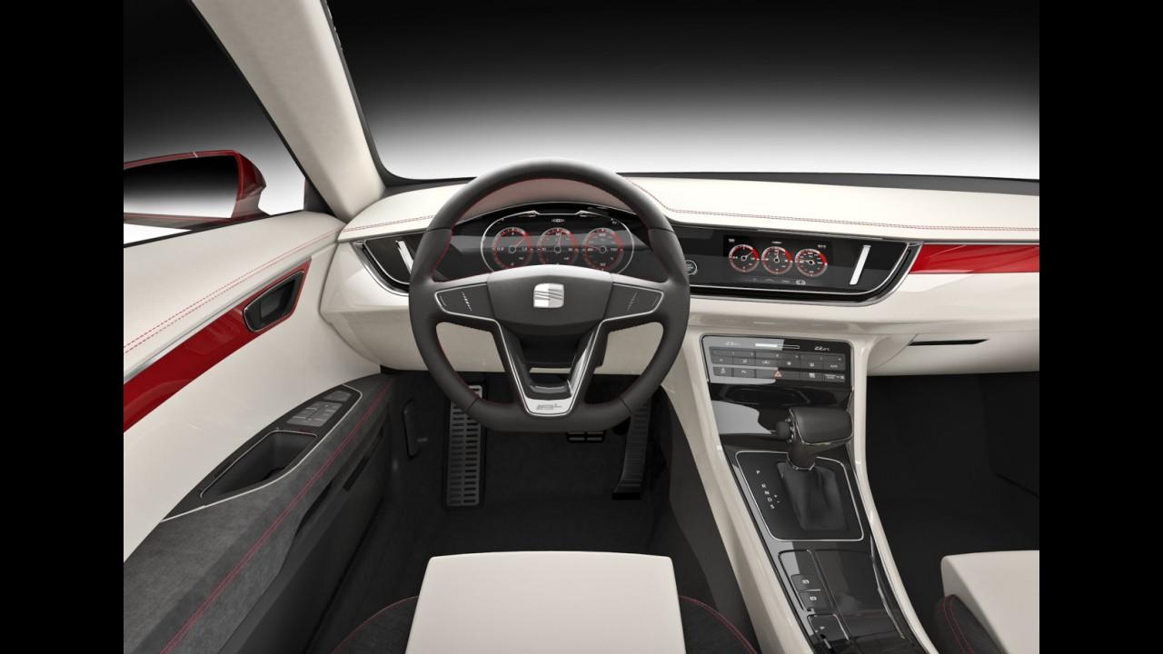 Frankfurt: Seat IBL Concept antecipa novo sedã médio da marca