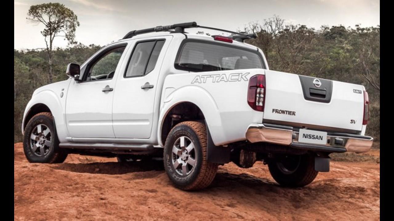 Nissan Frontier: nova geração será antecipada com conceito no Salão de Chicago