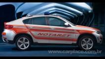 BMW mostra protótipo de um X6 Ambulância em feira na Alemanha