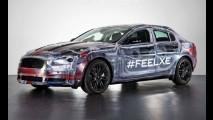 Veja a primeira foto da versão final do Jaguar XE, futuro rival do Série 3 e A3 Sedan