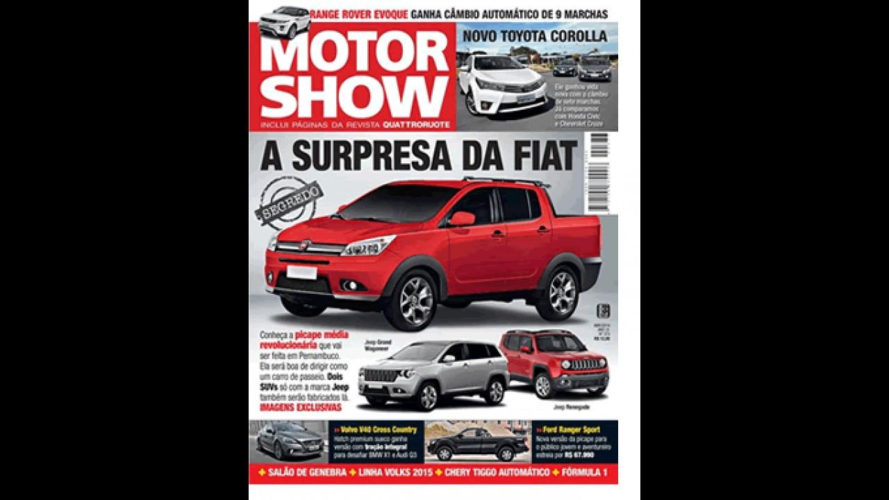 Segredo: inédita picape média da Fiat começa a ser revelada