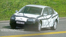 New Renault Laguna Sedan prototype