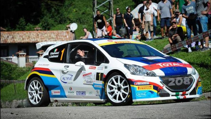 CIR del Friuli Venezia Giulia, i piloti Peugeot sono campioni