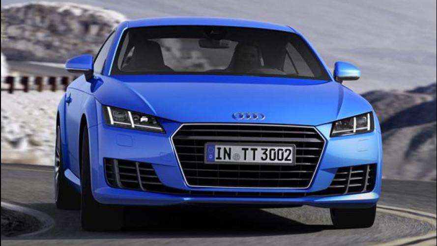 Audi, un nuovo 1.8 da 180 CV per la TT