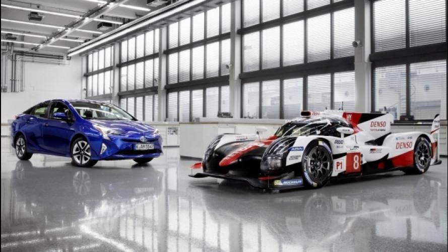Toyota, la nuova TS050 Hybrid anticipa le auto stradali di domani