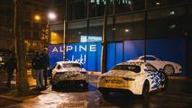 Alpine prototypes Paris night ride