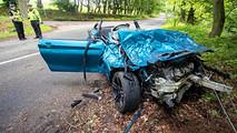 BMW M2 Crash After Car Meet