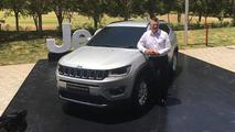 Jeep Compass - Lançamento na Índia