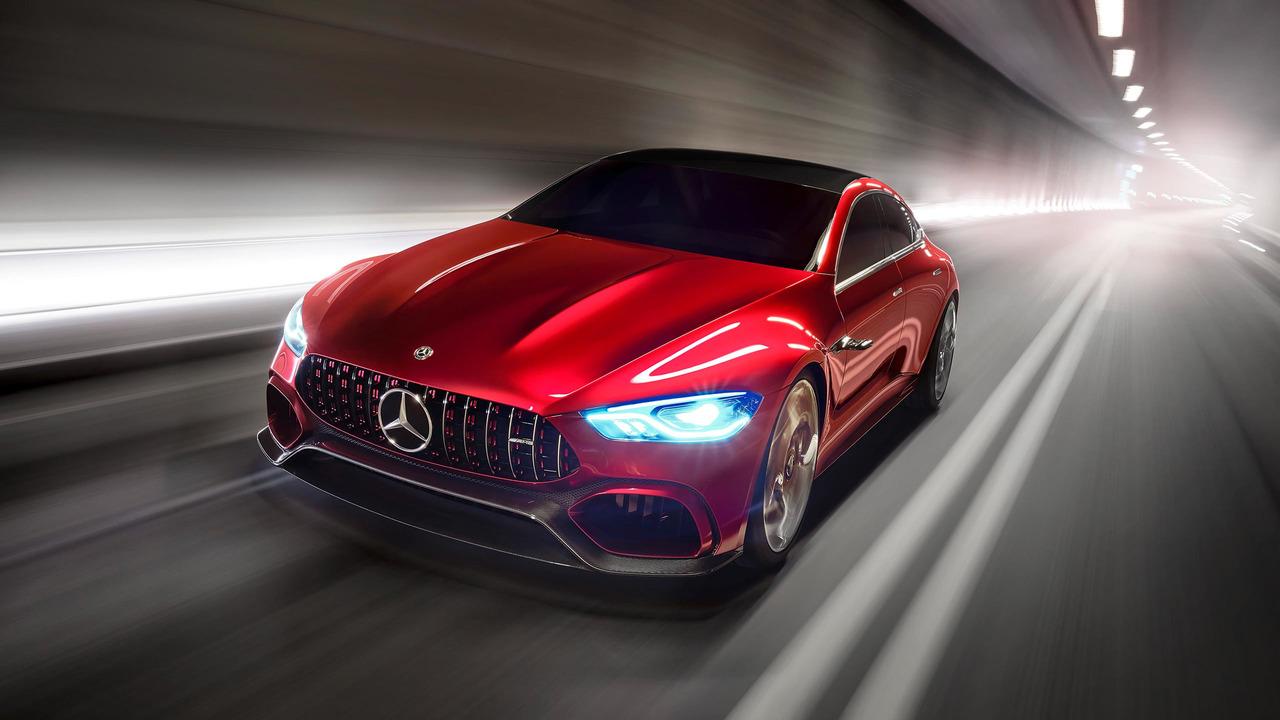 Mercedes-AMG GT 2017 Concept Ginebra