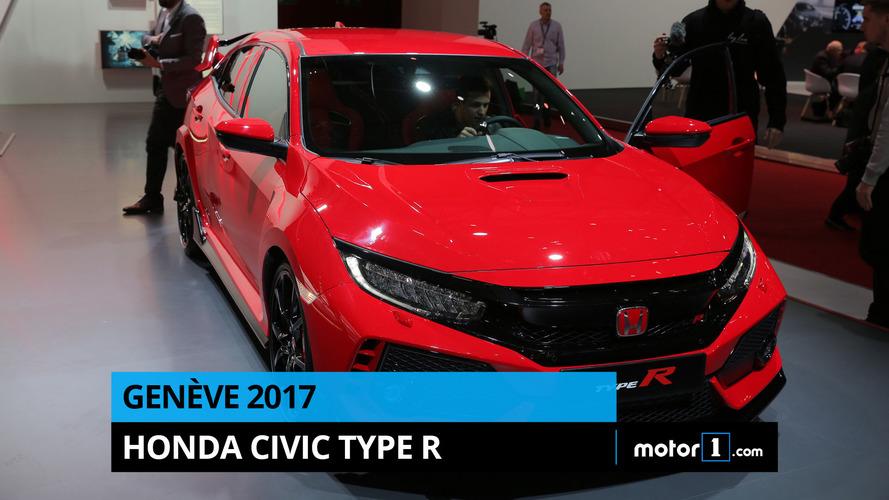 VIDÉO - La Honda Civic Type R en direct de Genève