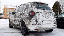 Makyajlı Fiat 500L casus fotoğrafları