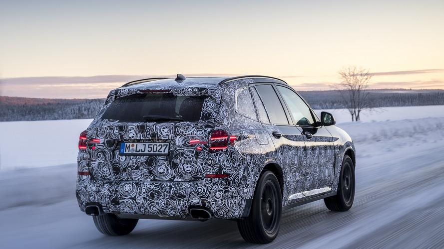 Le nouveau BMW X3 sera présenté le 26 juin prochain