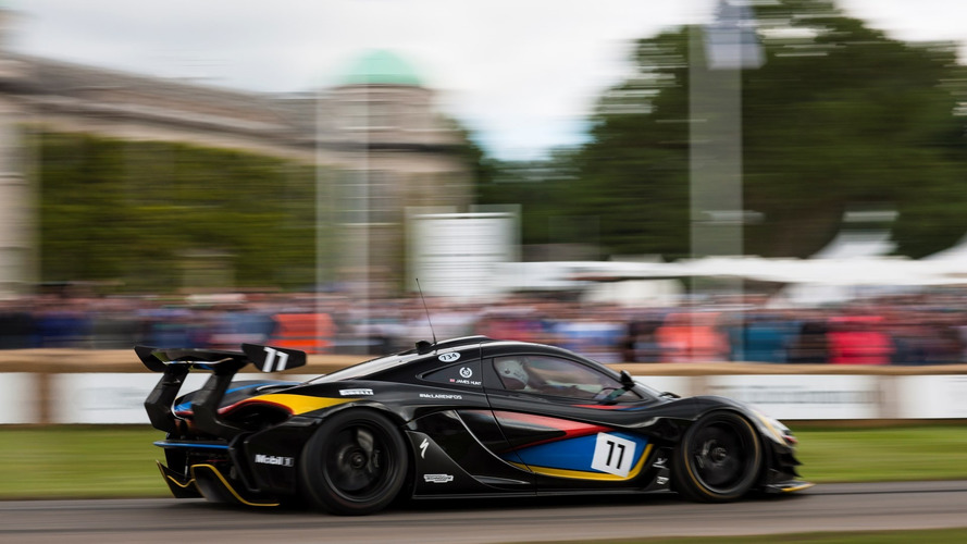 La McLaren P1 GTR aux couleurs de James Hunt