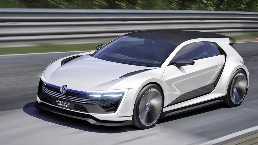 Volkswagen Golf GTE Sport concept debuts at Worthersee with carbon body and 400 PS hybrid setup