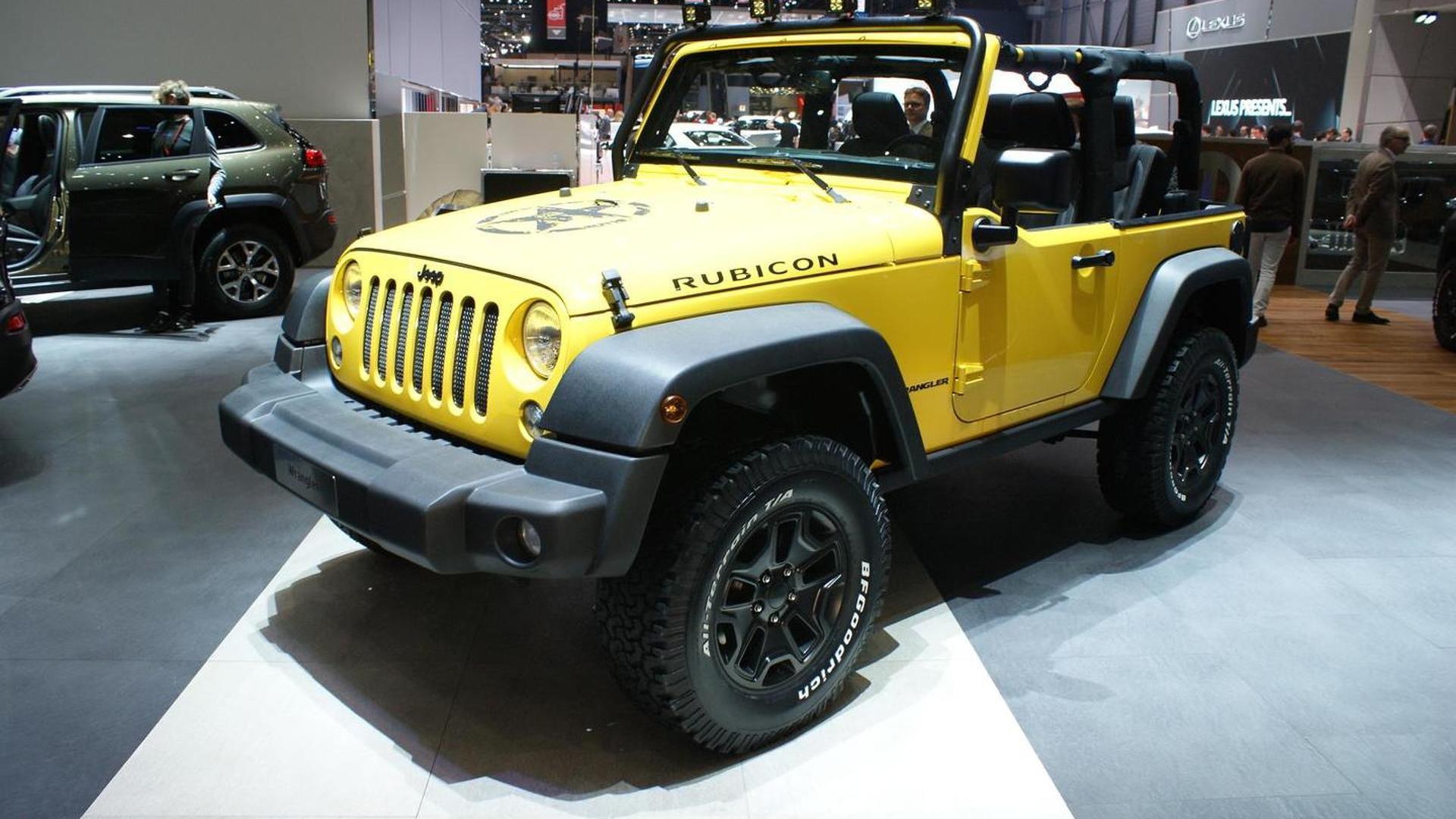 2015 jeep wrangler rubicon rocks star unveiled ahead of geneva debut. Black Bedroom Furniture Sets. Home Design Ideas