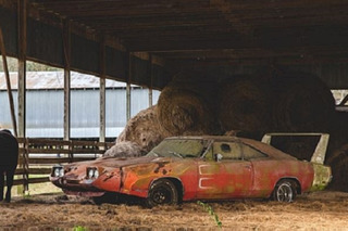 A Forgotten Charger Daytona, Uncovered After 40 Years