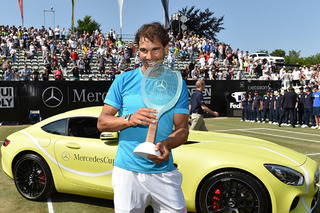 Rafael Nadal Says His Mercedes-AMG GT is Good, But Not Kia Good