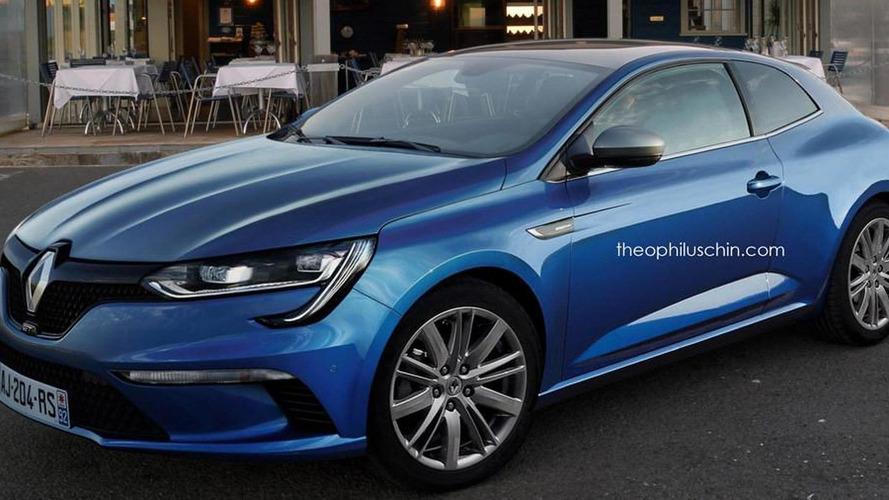 Renault Megane Coupe rendering is a really nice effort