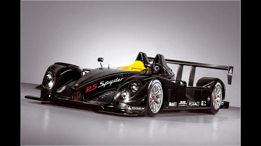 Offen für ein schnelles Vergnügen: Der Porsche RS Spyder