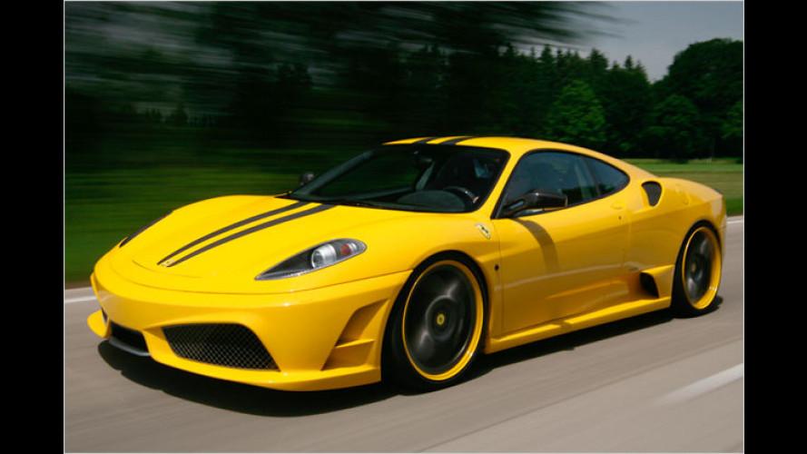 200 PS obendrauf: Ferrari F430 Scuderia von Novitec Rosso