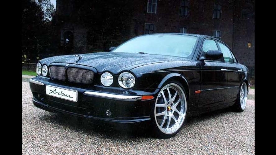 Arden macht den Jaguar scharf: Mehr Power für den XJ
