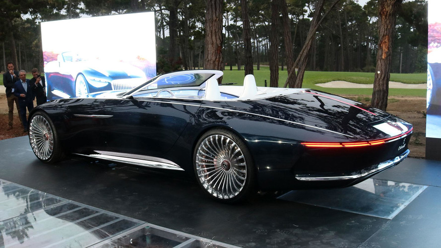 Vision Mercedes-Maybach 6 Cabriolet Debut