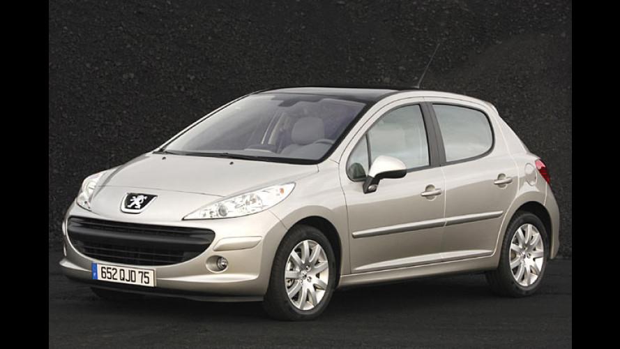 Peugeot 207: Kleiner Löwe teurer als Clio und Punto