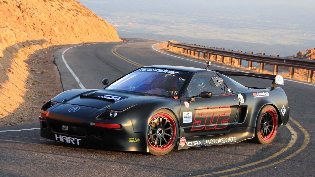 Acura NSX Pikes Peak entry 23.4.2013