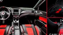 Subaru Cosworth Impreza STI CS400 interior customized by Carlex