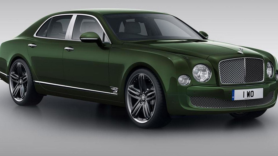 Bentley Mulsanne Le Mans Edition headed to Pebble Beach