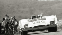 Porsche 908 02 Spyder in action at the 1969 Targa Florio, 24.06.2010