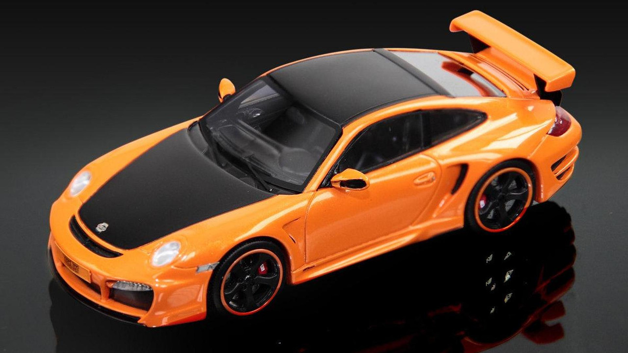 TechArt GTStreet in a 1:43 scale, 1200, 03.05.2011