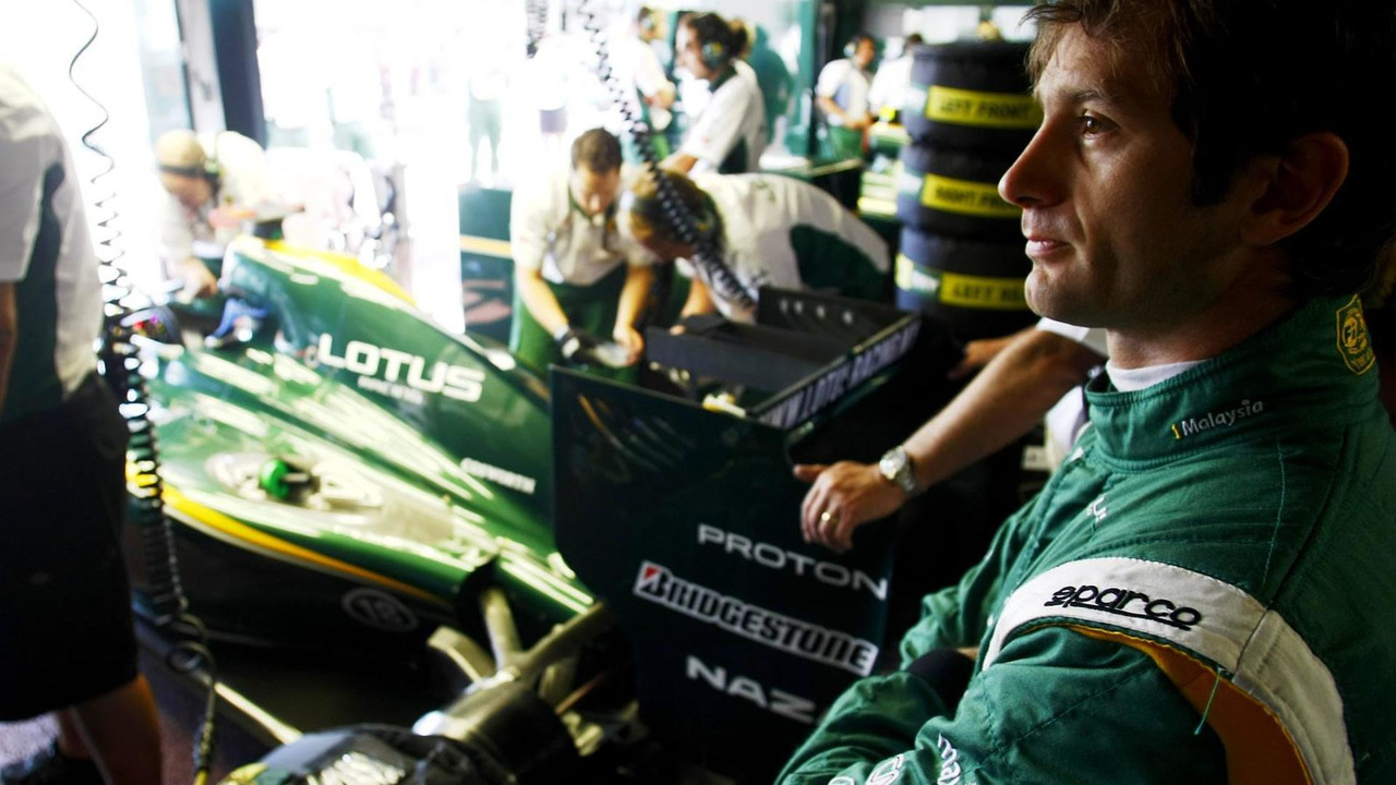 Jarno Trulli during Thursday practice at the Monaco Grand Prix