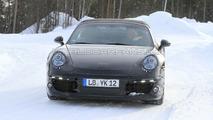 2011 Porsche 991 Cabrio winter tes spy photos 10.03.2010
