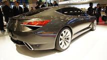 Lotus Eterne four-door sedan live in Paris
