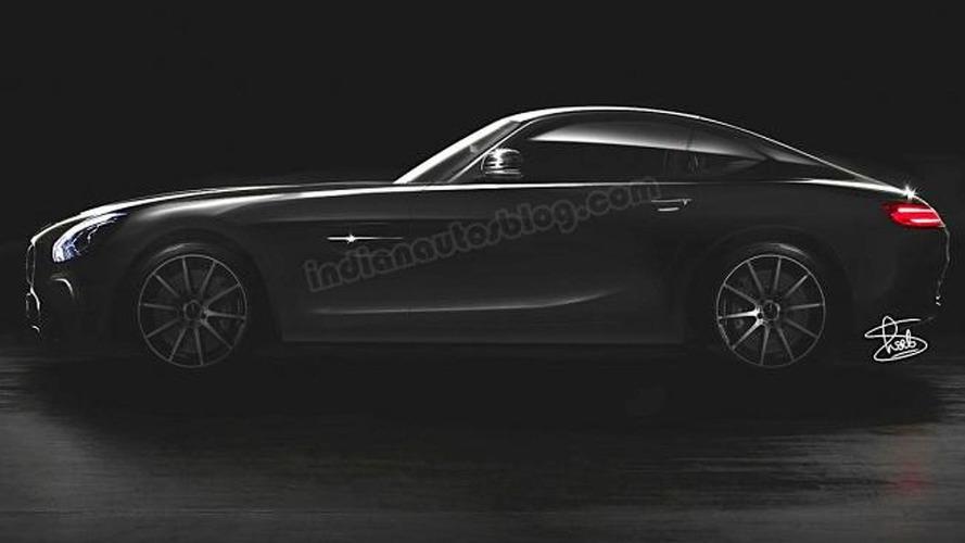 Mercedes-AMG GT rendered based on official teaser