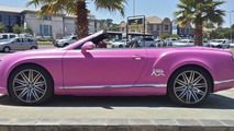 Bentley Continental GT Speed Convertible for Breast Cancer Awareness Month