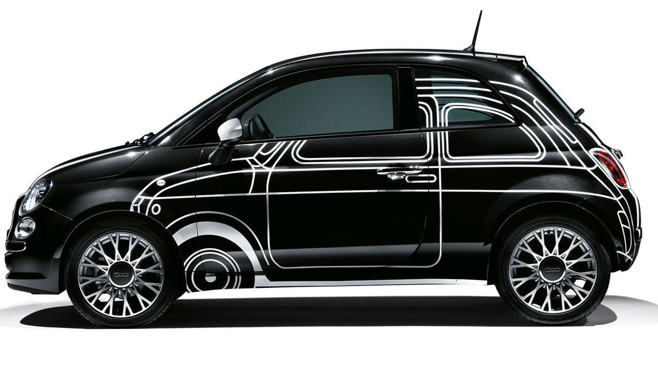 Fiat 500 Ron Arad Edition