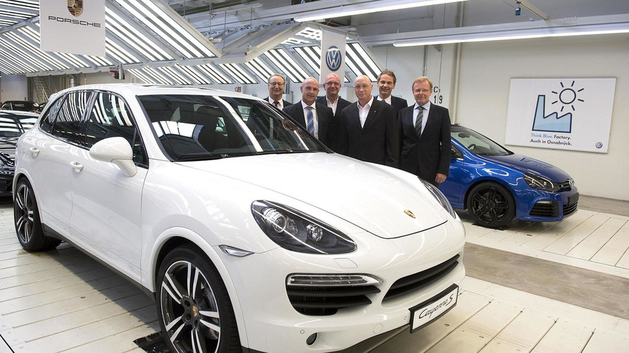 Volkswagen to begin building the Cayenne next summer