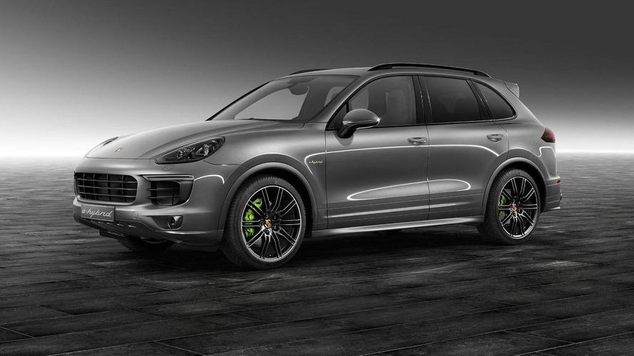 Porsche Exclusive shows off their Cayenne S E-Hybrid