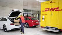 Audi Amazon delivery service